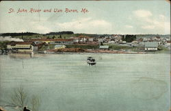 St. John River and Town View