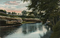 Scene on Wakarusa River, Deichman's Crossing