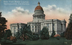 Rear View, State Capitol