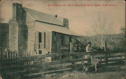 Welcome to the Cabin Home on River Bank of Kentucky
