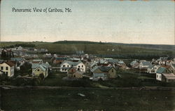 Panoramic View of Caribou, ME