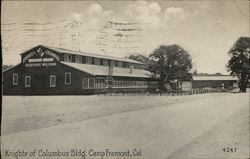 Knights of Columbus Bldg. Camp Fremont