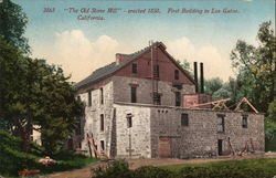 The Old Stone Mill - erected 1850, First Building in