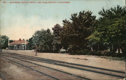 Southern Pacific Depot and Park