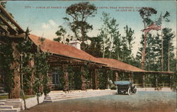 Lodge at Pebble Beach at the Base of Sutter Drive on Line of the S. Pacific