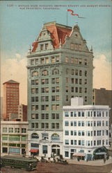 Mutual Bank Building, Showing Kearny and Market Streets