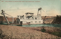 Gold Dredging on the Feather River