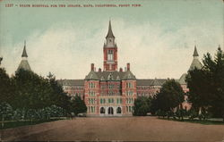 State Hospital For The Insane, Front View