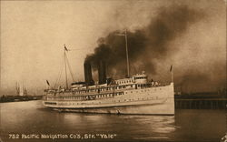 "Pacific Navigation Co's, Str. ""Yale"""