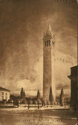 The Jane K Sather Tower, University of California