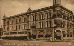 Modesto Bank & Masonic Building