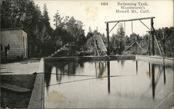 Swimming Tank, Woodworth's, Howell Mountain