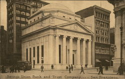Savings Union Bank and Trust Company