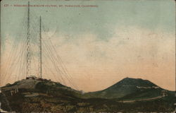 Wireless Telegraph Station, Mount Tamalpais