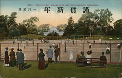 Tennis Court, Golden Gate Park