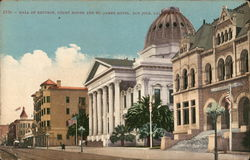 Hall of Records, Court House and St. James Hotel