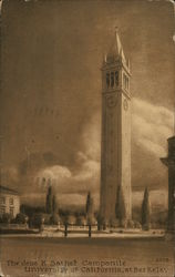 The James K. Sather Campanile, University of California