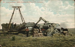 Threshing Beans, San Joaquin County