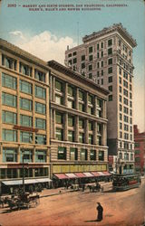 Market and Sixth St., Eiler's, Hale's, and Hewes Buildings