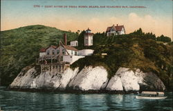Lighthouse on Yerba Buena Island Postcard
