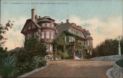 Residence of F.M. (Borax) Smith