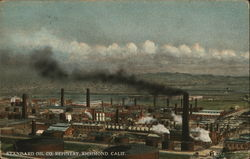 Standard Oil Co. Refinery Postcard