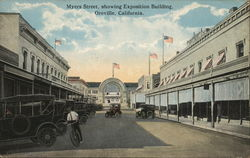 Myers Street Showing Exposition Building