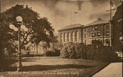 High School from Lafayette Square
