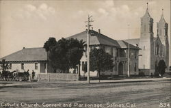 Catholic Church, Convent and Parsonage