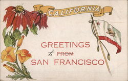 Greetings From San Francisco, California