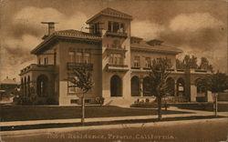 A Residence, Fresno, California