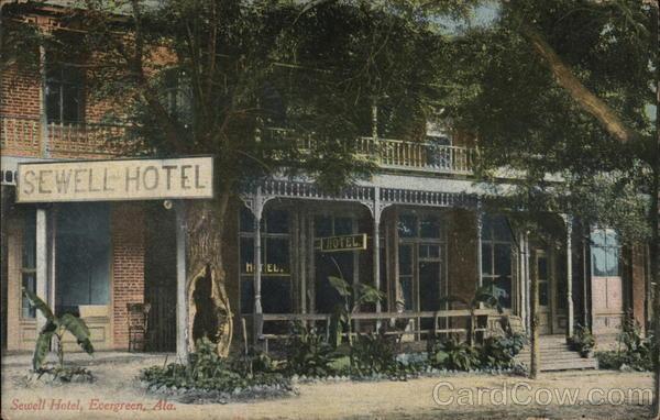 Sewell Hotel Evergreen Alabama