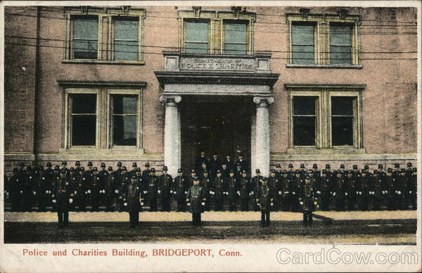 Police and Charities Building Bridgeport Connecticut