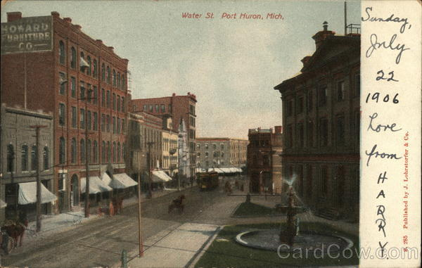 Water Street Port Huron Michigan
