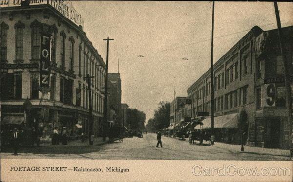 Portage Street Kalamazoo Michigan