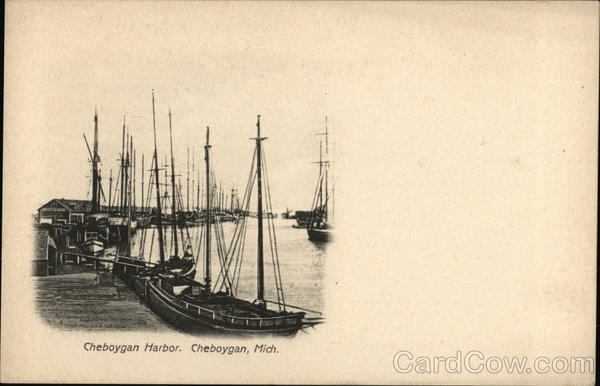 Cheboygan Harbor Michigan