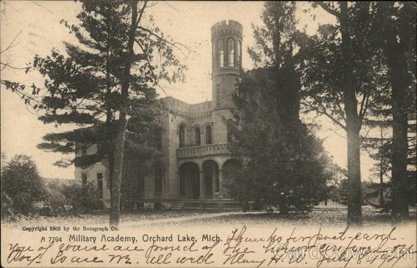Military Academy Orchard Lake Michigan