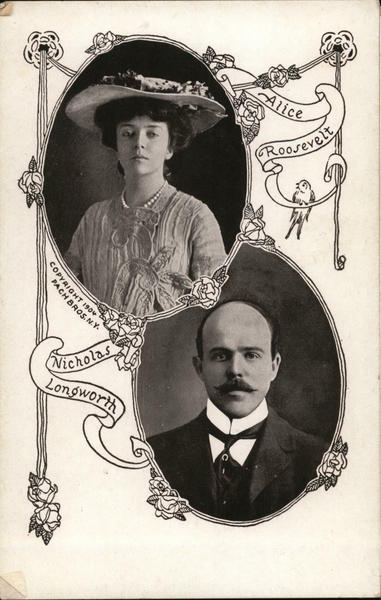 Alice Roossevely, Nicholas Longworth Couples