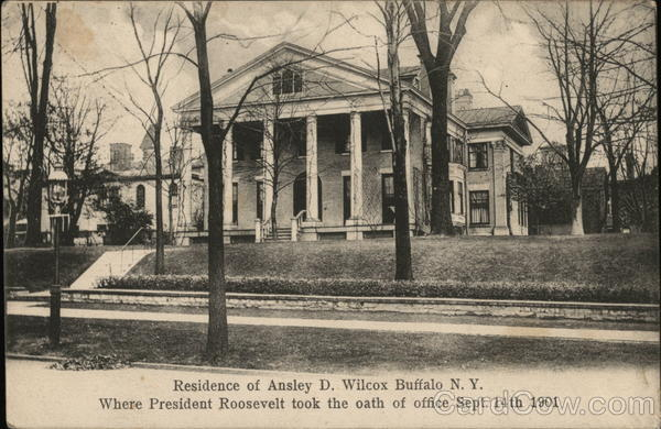 Residence of Ansley D. Wilcox Buffalo N.Y. New York