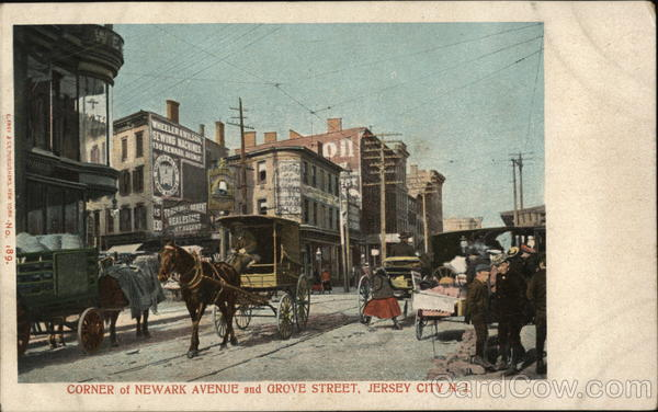 Corner of Newark Avenue and Grove Street Jersey City New Jersey