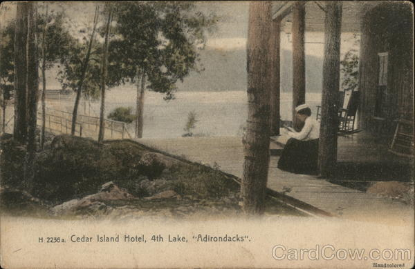Cedar Lake Hotel, 4th Lake, Adirondacks New York