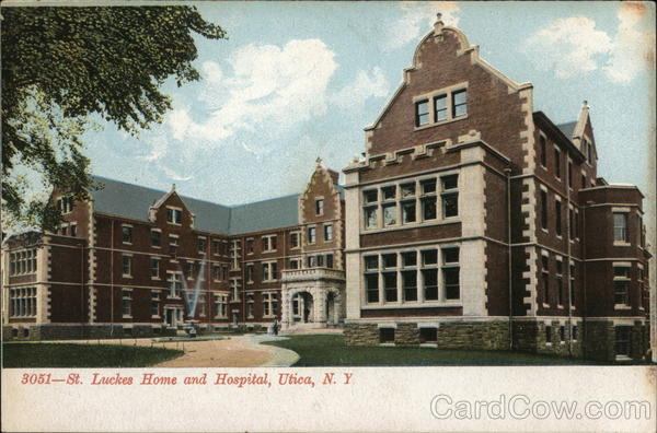 St. Luckes Home and Hospital Utica New York