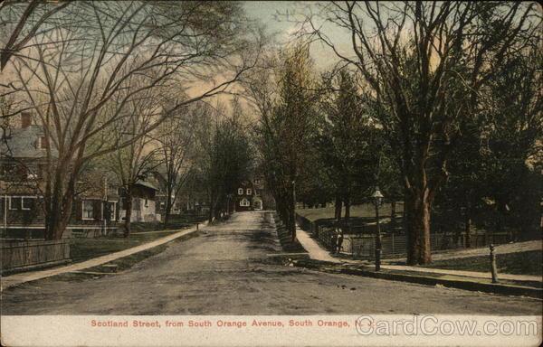 Scotland Street, from South Orange Avenue New Jersey