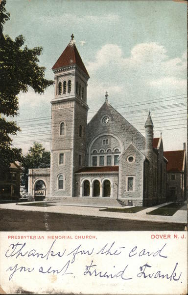 Presbyterian Memorial Church Dover New Jersey