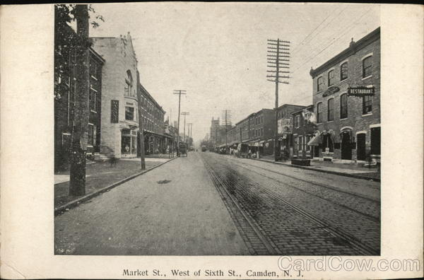 Market St., West of Sixth St. Camden New Jersey