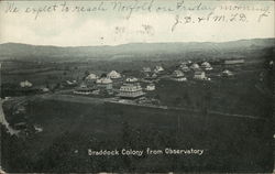 Braddock Colony from Observatory