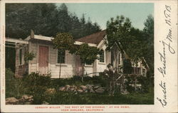 "Joaquin Miller ""The Poet of the Sierras,"" At His Home"