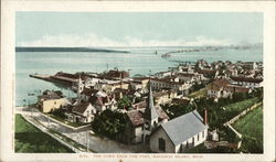 Bird's Eye View from Fort Postcard