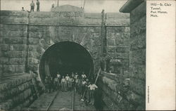 St. Clair Tunnel Postcard