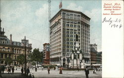 Majestic Building, Soldiers and Sailors Monument